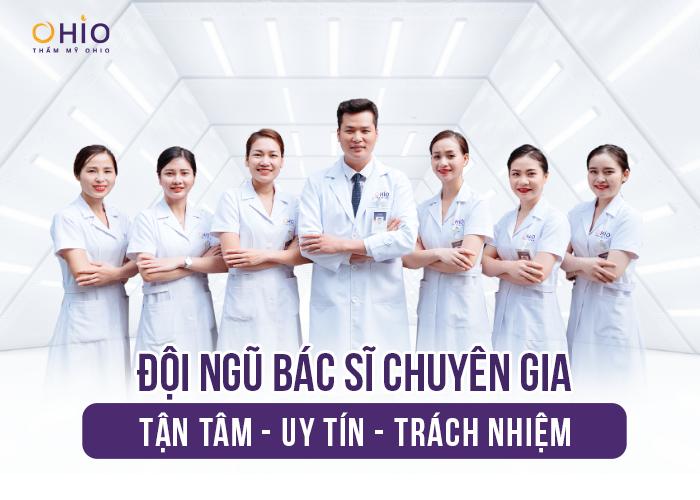 Đội ngũ bác sĩ tận tâm giàu kinh nghiệm