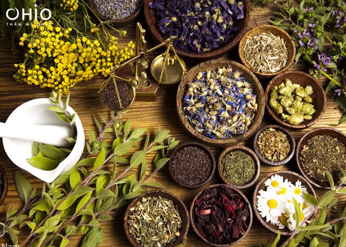 Một số phương pháp điều trị từ bài thuốc thiên nhiên.